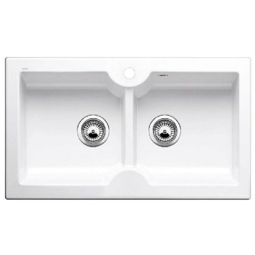 Blanco Idessa 9 Inset Ceramic Kitchen Sink